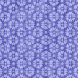 Stof Quilters Basic lavender blue flower 4517 507