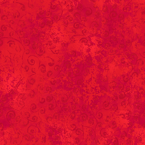 Quilting Temptations Red on Red Swirl 22542-R
