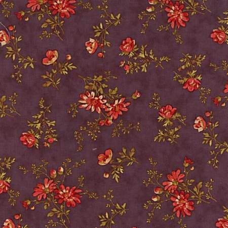 Moda Atelier by 3 Sisters Mauve Floral 44053-14